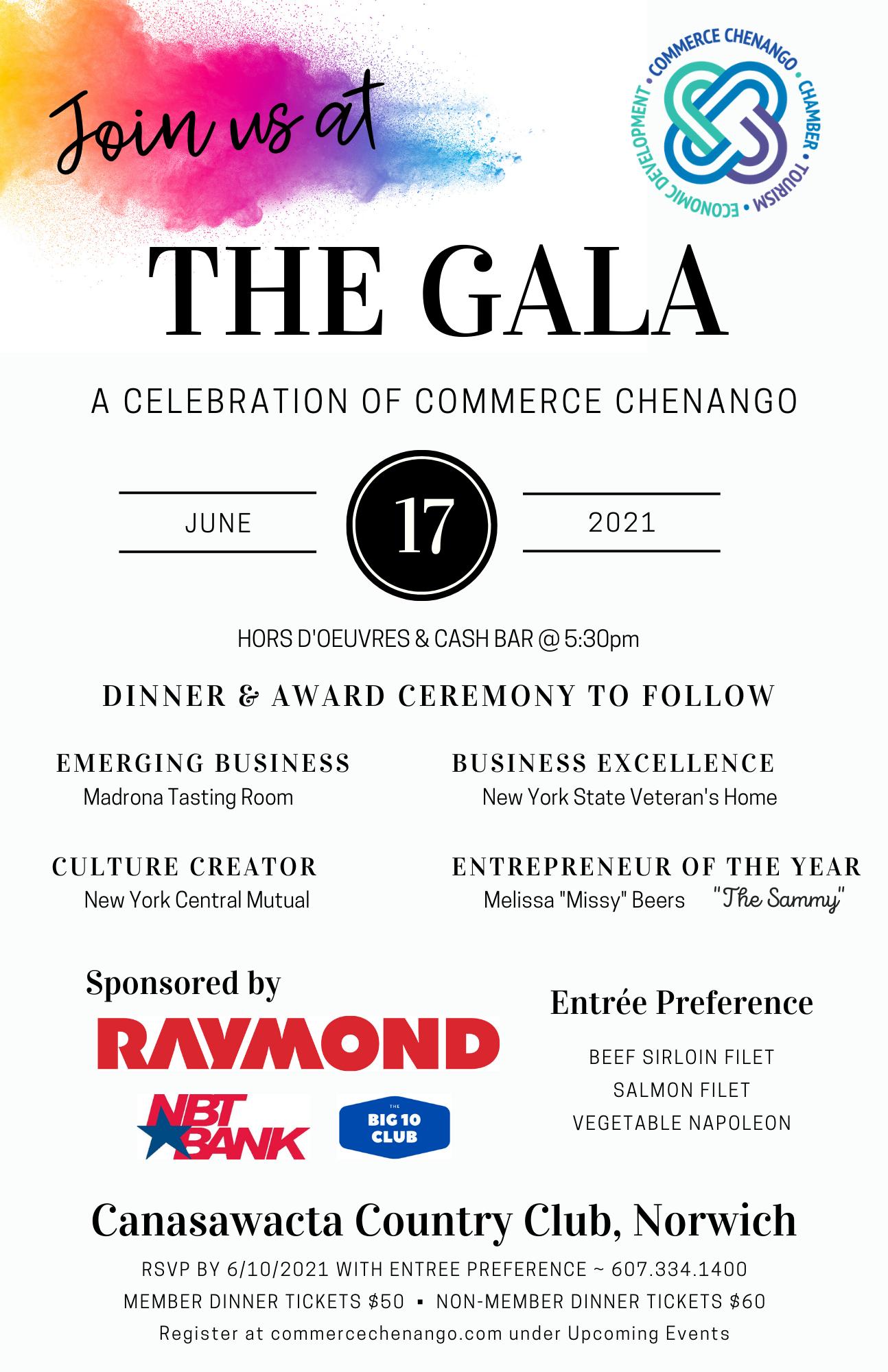 Gala Invitation 2021