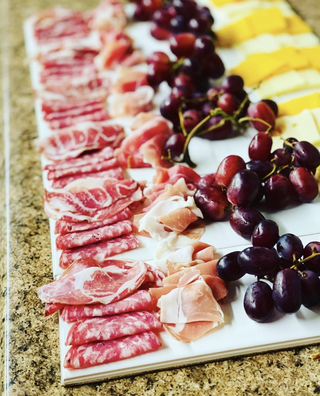 Meat and Chese platter at Madrona Tasting Room