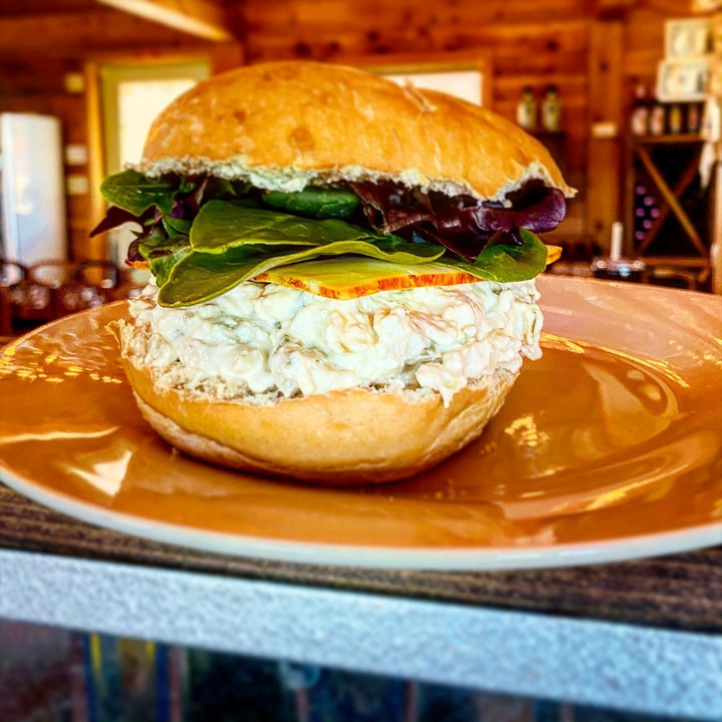 Chicken Salad Sanwhich at The Madrona Tasting Room