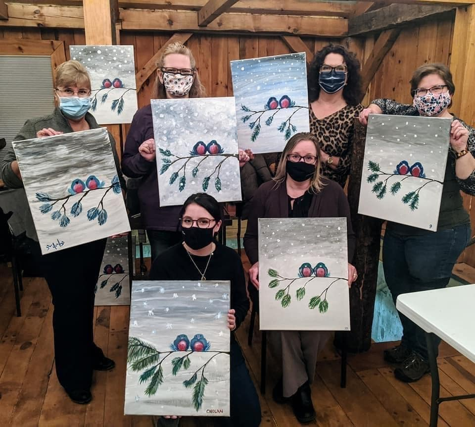 Paint and Sip Event at Madrona Tasting Room